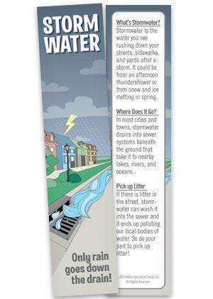 Storm Water bookmark