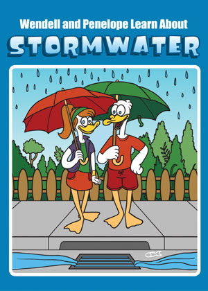 Wendell and Penelopy Learn About Stormwater