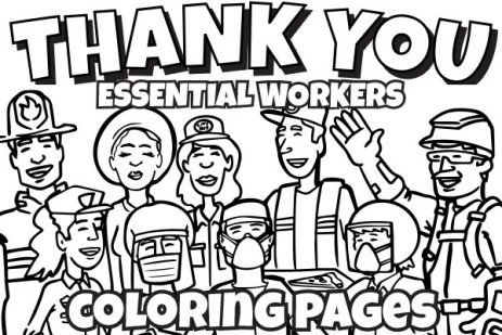 Essential Workers Coloring Pages Water Education Group